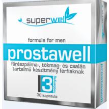 Gyógynövény tartalmú étrend-kiegészítő kapszula férfiaknak fűrészpálma-, tökmag- és csalán összetevőkkel