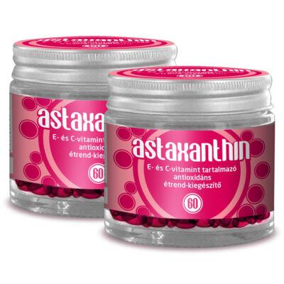 Antioxidáns a bőr rugalmasságáért és a szem egészségéért  E és C vitaminnal - Astaxanthin (60db)