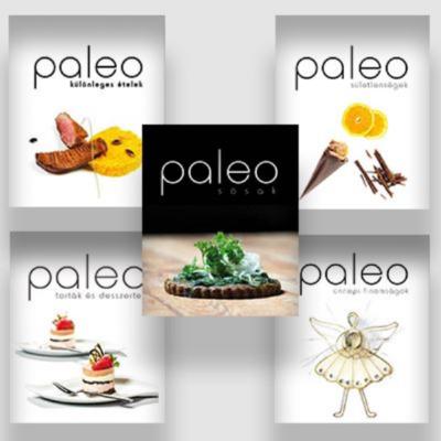 Paleo + Paleo - receptkönyvek párban