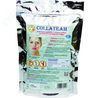 CollaTeam - halkollagén peptidek, C-vitamin és lizin