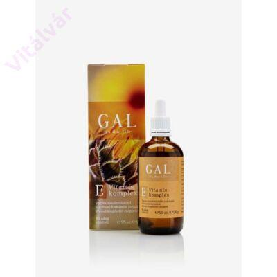 E-vitamin tartalmú étrend-kiegészítő cseppek - GAL E-vitamin komplex 95 ml