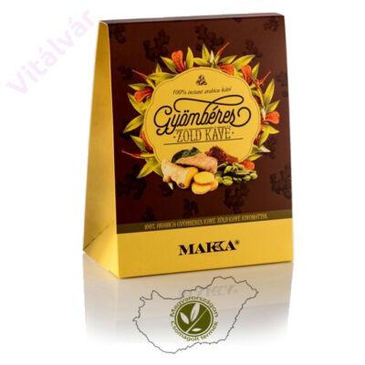 100% arabica instant kávé, gyömbér és zöldkávé kivonattal - MAKKA Gyömbéres Zöld kávé