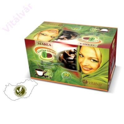 100% arabica instant kávét és zöld kávé kivonatot tartalmazó kávékülönlegesség - MAKKA ® Coffee Vitalis