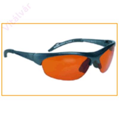 Immunrendszer erősítő, szellemi és fizikai kimerültséget csökkentő narancs színű terápiás szemüveg