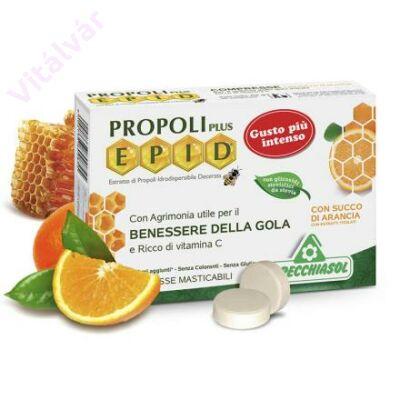 EPID Propolisz szopogatós tabletta narancsos ízben (cukormentes)