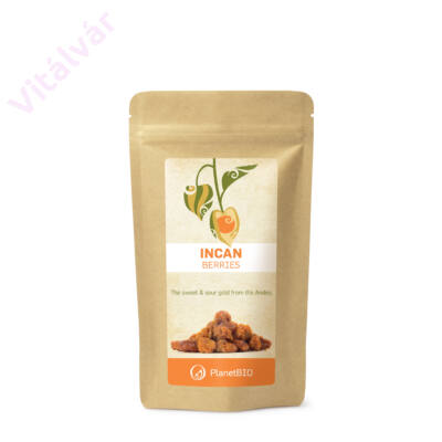 Rostokban, fehérjében, vasban, C és A-vitaminban gazdag táplálék-kiegészítő - INKA BOGYÓ (200 g)