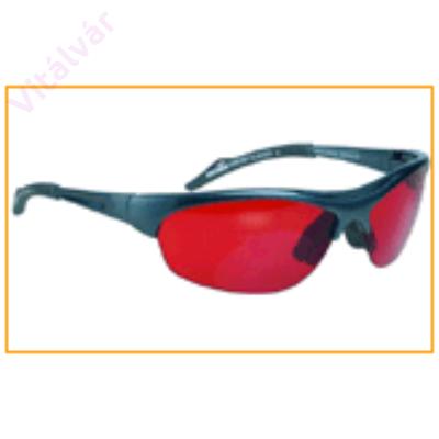 Reumatikus fájdalmakat és köszvényt csökkentő, az érzékiséget fokozó vörös színű terápiás szemüveg