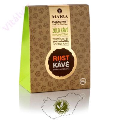 100% arabica instant kávé zöld kávé kivonattal és magas rost tartalommal - MAKKA Rost Kávé