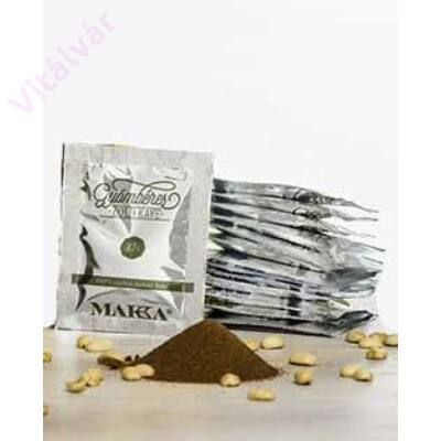 100% arabica instant kávé, gyömbér és zöldkávé kivonattal - MAKKA Gyömbéres Zöld kávé termékminta