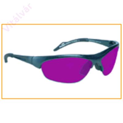 Kreativitást és spiritualitást növelő lila színű terápiás szemüveg