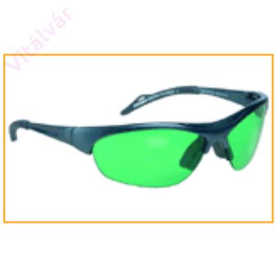 Nyugtató hatású, gyógyulást elősegítő zöld színű terápiás szemüveg