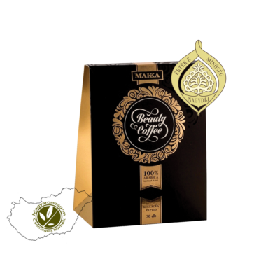 100% arabica instant kávét és bioaktív kollagén peptidet tartalmazó táplálkozási kozmetikum - MAKKA Beauty Coffee kávékülönlegesség